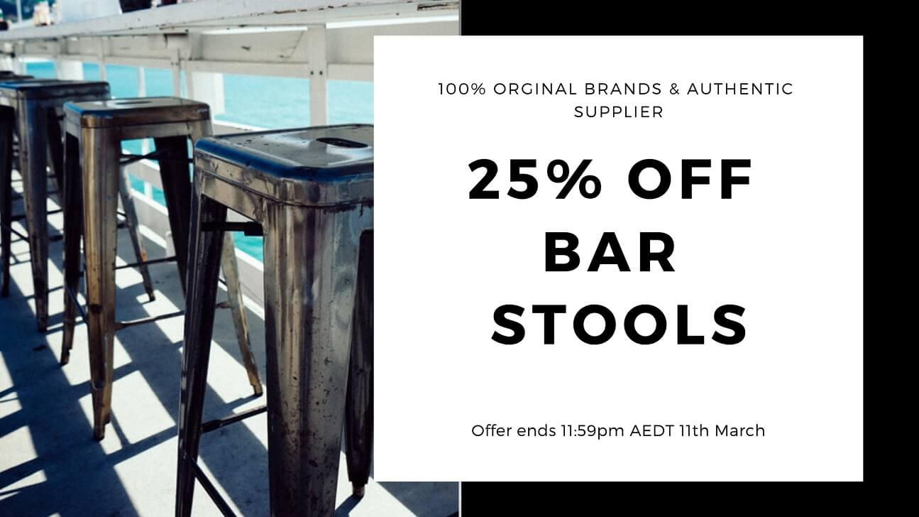 Up to 25% OFF Bar Stools!